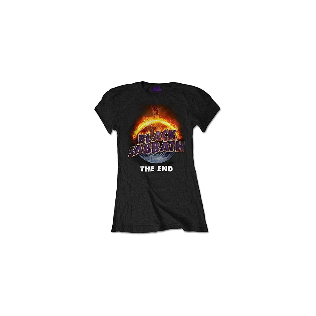 Black Sabbath The End, Camiseta Mujer