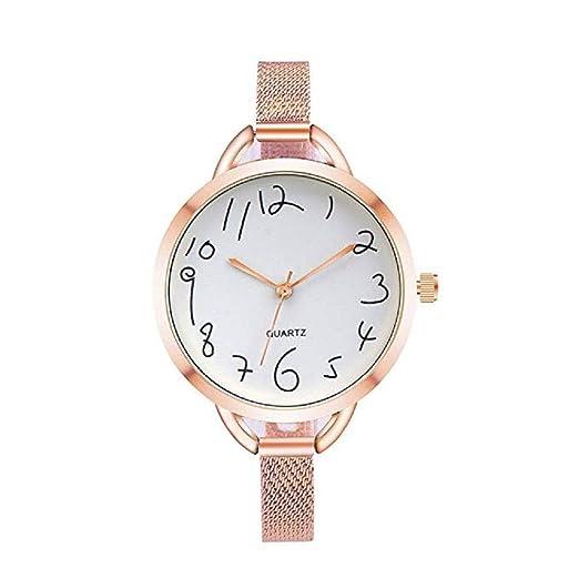 Scpink Relojes de Cuarzo de Las Mujeres de liquidación Relojes de Mujer a  la Venta Relojes 6adcc0b01f39