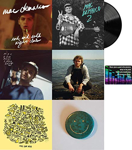 Mac Demarco: Complete Studio Album Discography Vinyl Collection with Bonus Art Card (Here Comes the Cowboy / This Old Dog / Salad Days and More) (Mac Demarco Rock And Roll Night Club)