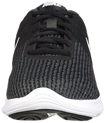 Nike Men's Revolution 4 Running Shoe, Black/White-Anthracite, 8 Regular US by Nike (Image #4)