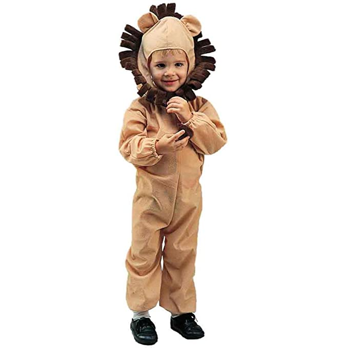 0ba48e95a9c1 Amazon.com  Child s Toddler Lion Halloween Costume (2-4T)  Clothing