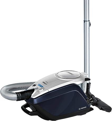 Aspirador sin bolsa silencioso Bosch Relaxx ProSilence BGS5RCL Color azul plata 700 W