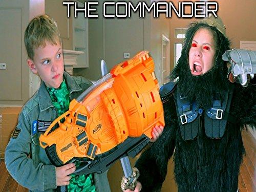 The Commander Wars Nerf Blaster Gorilla