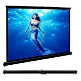 40-inch Projector Screen Portable Outdoor Projection Screen 4:3 Suitable for Home Theater Business