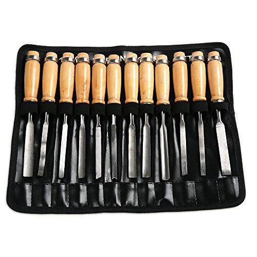 Wood Carving SK5 Steel Knife Graver Kit Wood Craft Tools Set - 8