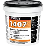 Roberts 1407-1 Engineered Wood Flooring Adhesive Glue, 1 Gallon