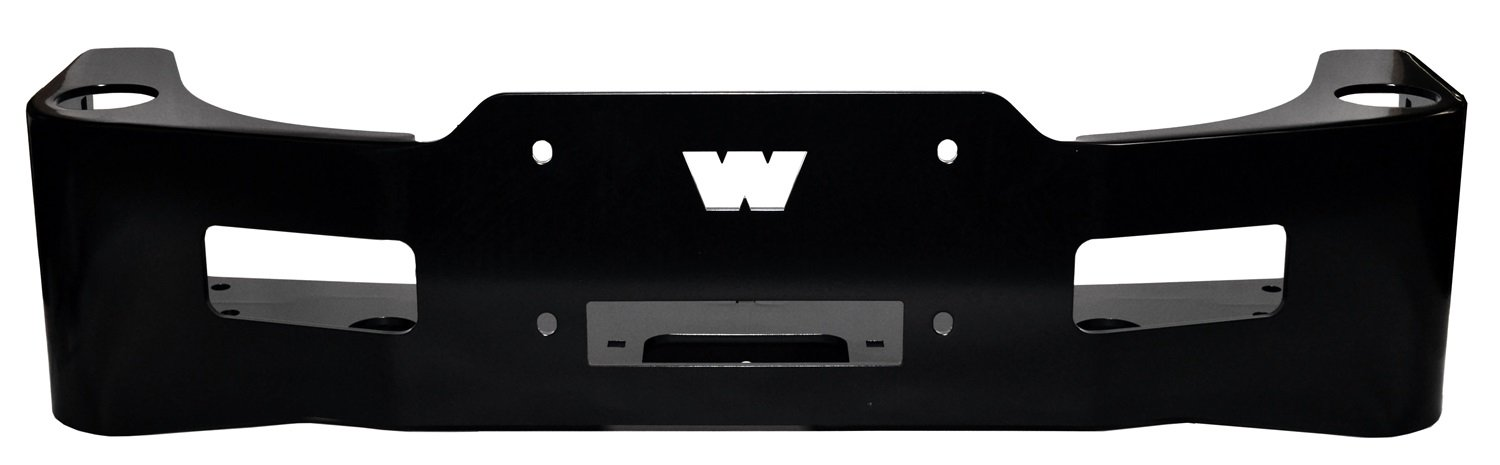 WARN 90110 Black Winch Carrier Kit by WARN