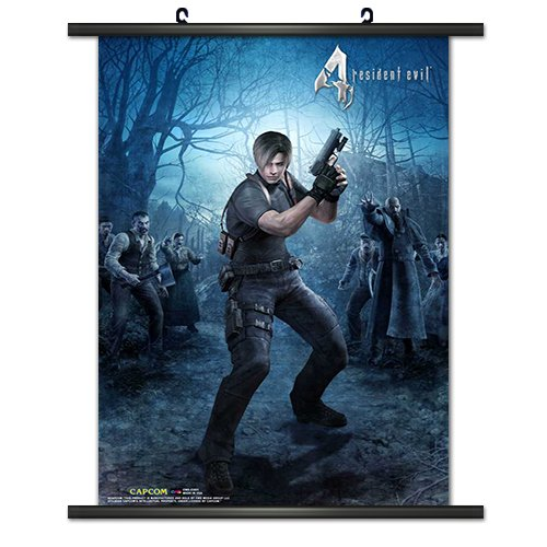 CWS Media Group Officially Licensed Resident Evil 4 Game Wal