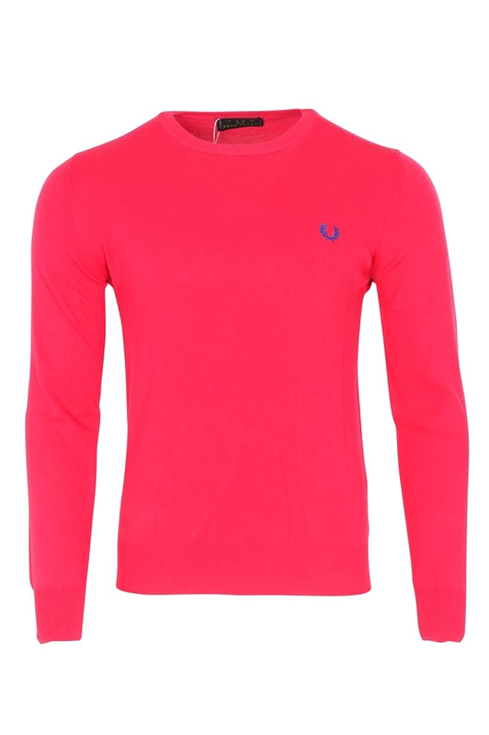 delicate Fred Perry Suéter Hombre Rosado algodón casual L - abckhabar.in e4cf9d635ed0e