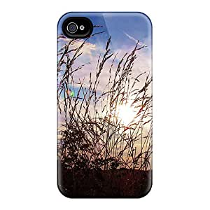 High Quality XyuJGcB8070yvqzw Grass Sunset Tpu Case For Iphone 4/4s