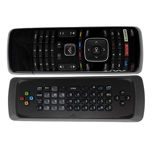 New XRT300 Keyboard TV Remote Control fit for Vizio TV E280I-B1 E291I-A1 E280I-A1 E291I-A1 E320FI-B0 E320FI-B2 E320I-A0 E320I-A2 E320I-B0 E320I-B1 E320I-B2 E390I-A1 with Amazon Netflix Vudu