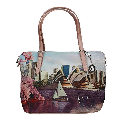 YNOT? j-377 Shopping Bag Donna Multicolor