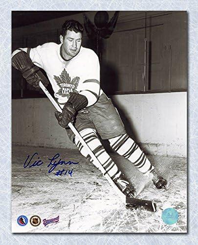 Vic Lynn Toronto Maple Leafs Autographed 8x10 Photo