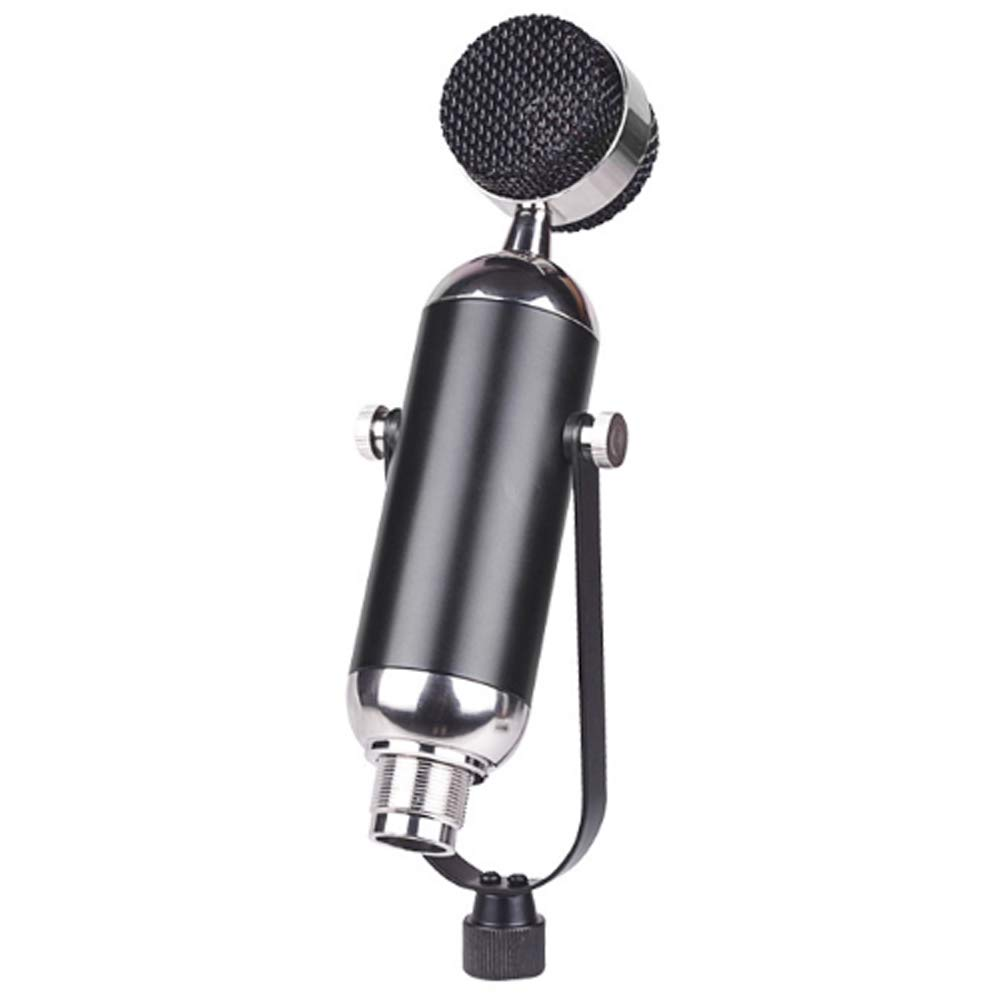 MIKE-ZY PC Microphone, 3.5Mm Plug, XLR, Plug and Play, Heart-Shaped, Desktop Stand, for Games, YouTube, Podcasts, Studio Recordings, Online Chat, for PC, Laptop, Tablet/Black