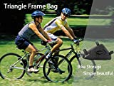 NDakter Bike Pouch, Water-Resistant Bicycle Frame