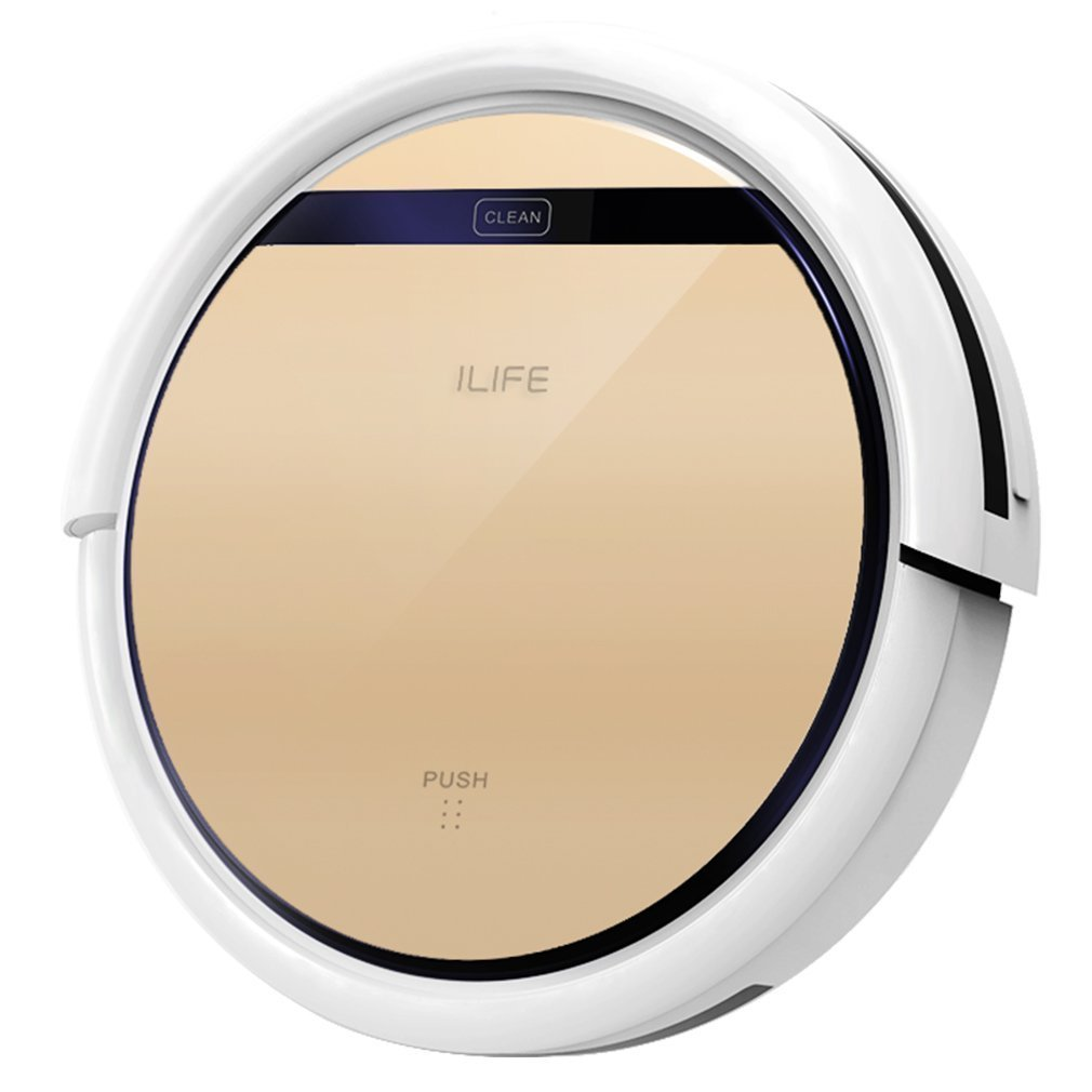 ILIFE V5s Robotic Vacuum Cleaner with Water Tank Mop (Certified Refurbished)