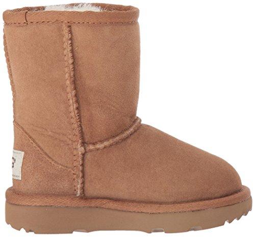 Boots Classic Ugg Noisette Fauve Fille Short wwx6r