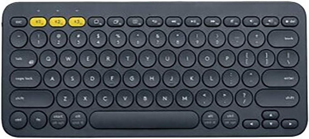 Cigkany Bluetooth Keyboard Wireless Keyboard Mobile Tablet Computer Portable Mini Bluetooth Keyboard Computer Keyboard Color : Blue, Size : 279x124x16mm