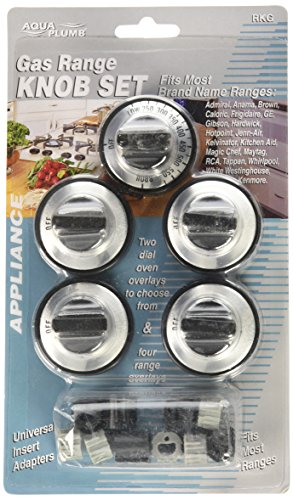 Price comparison product image AquaPlumb RKG Not Applicable Gas Range Knob- 5PC / Card