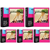 Impossible Color Film for 600 Hot Pink Edition (Hot Pink Frames) 5 PK