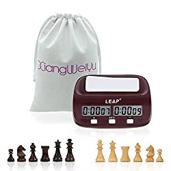 Digital Chess Clock Professional Board Game Timer Tournament Timing Analogue Electronic Count Up Down Game Clock