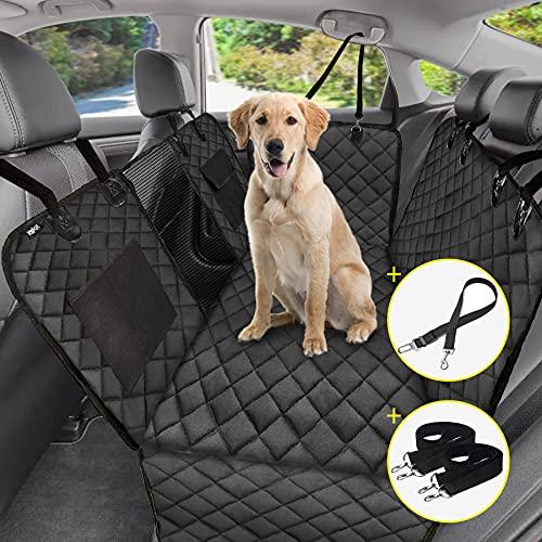 Fundas de asiento de coche para perros, con ventana visual.