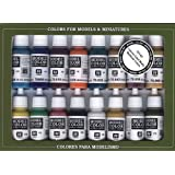 Vallejo Medieval Colors Paint Set, 17ml