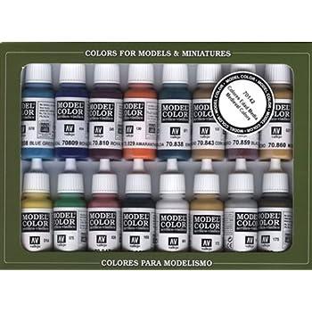 Vallejo Medieval Colors Paint Set, 17ml