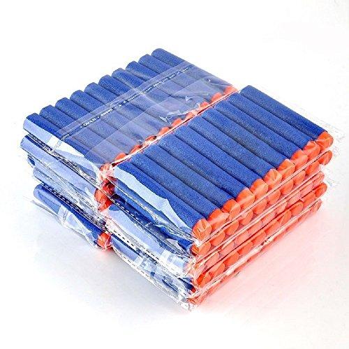 Brand New 100 Pcs 7.2cm Refill Foam Darts For Nerf N-strike Elite Series Blasters bullets Toy Gun Sponge Plastic
