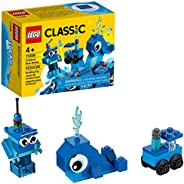 LEGO Classic Creative Blue Bricks 11006 Kids' Building Toy Starter Set with Blue Bricks to Inspire Imaginative