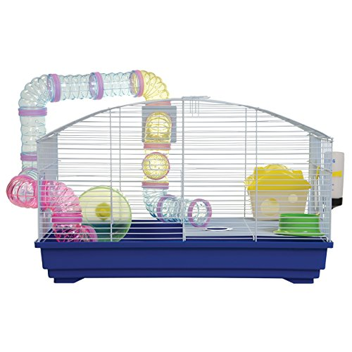 Animal Treasures YDE102/DBLUE Blue Deluxe Hamster Kit