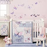 Cribs for Sale Bedtime Originals Butterfly Meadow Bedding Set, 3 Piece