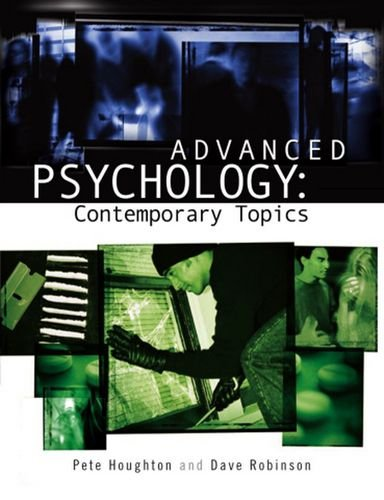 Advanced Psychology: Contemporary Topics (Arnold Publication)