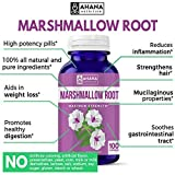 Marshmallow Root Capsules, 480mg Per Serving with