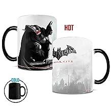 Morphing Mugs DC Comics Batman Arkham Origins Batman Heat Reveal Ceramic Coffee Mug - 11 Ounces
