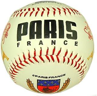 Souvenirs de France - Balle de Baseball Paris Tour Eiffel - Blanc Jeux et Jouets de France