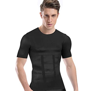 Amazon | 加圧シャツ メンズ 加...