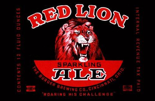 ArtsyCanvas Red Lion Ale 48