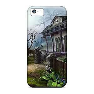 Durable Creepy Ruins Back Case/cover For Iphone 5c