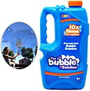 Joyin Toy Bubble Solution Refill (up to 2.5 Gallon) BIG Bubble Solution 32 Ounce CONCENTRATED Solution for Bub
