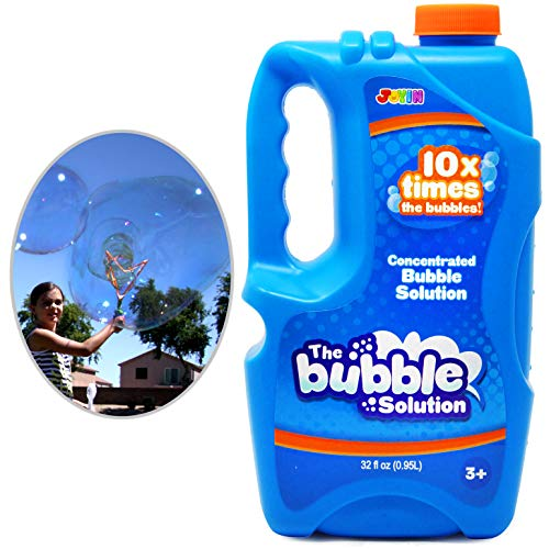 (Joyin Toy Bubble Solution Refill (up to 2.5 Gallon) BIG Bubble Solution 32 Ounce CONCENTRATED Solution for Bubble Machine.)
