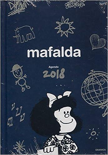 Mafalda 2018 Agenda encuadernada (Spanish Edition): Quino ...