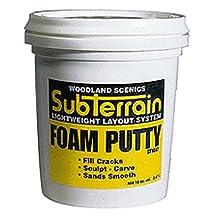 Woodland Scenics Foam Putty, Pint WOOST1447