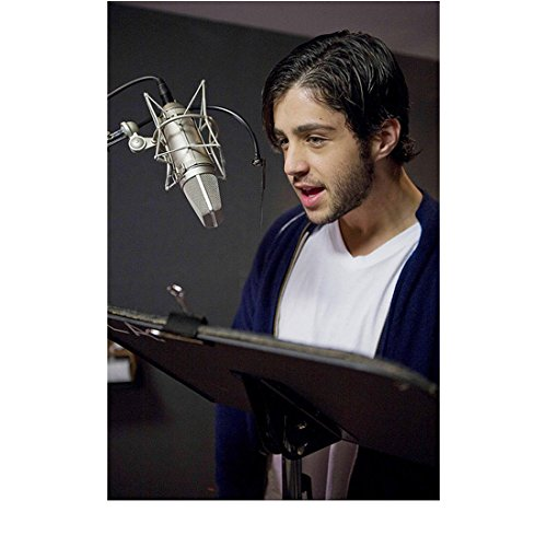 - Ice Age 8 inch x 10 inch PHOTOGRAPH Josh Peck Blue Hoodie Over White Tee Recording kn