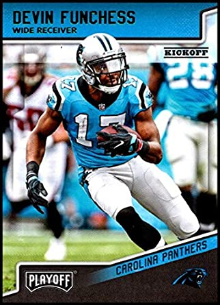 2018 Panini Playoff Kickoff  28 Devin Funchess NM-MT Carolina Panthers  Official NFL Football ed360ef62