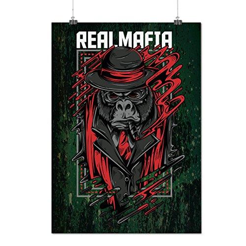 Mafia Gorila Gangster Matte/Glossy Poster A3 (42cm x 30cm)   (True Blood Costumes Uk)