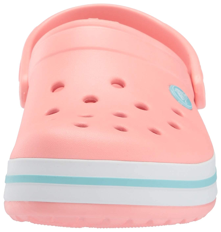 Crocs Sabots Melon//Bleu Glace Mixte Enfants gar/çon