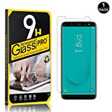 Galaxy J6 2018 Screen Protector, Bear Village® Tempered Glass Screen Protector, HD Screen Protector Film for Samsung Galaxy J6 2018-1 PACK