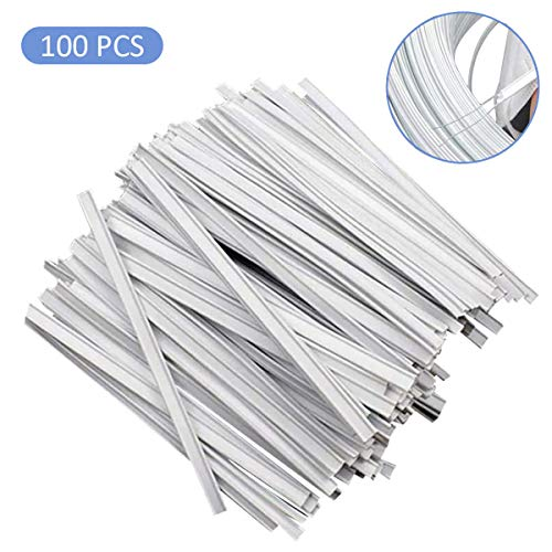 Nose Wire – Nose Bridge – Nose Strip for Masks – Nose Bridge for Mask 80mm Flat Bar Strip Trimming for Face DIY Making Accessories and Nose Area for Crafting