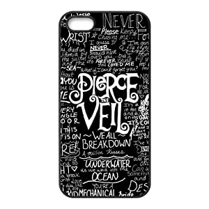 PTV Hard Rubber Phone Cover Case for iPhone 5,5S Cases